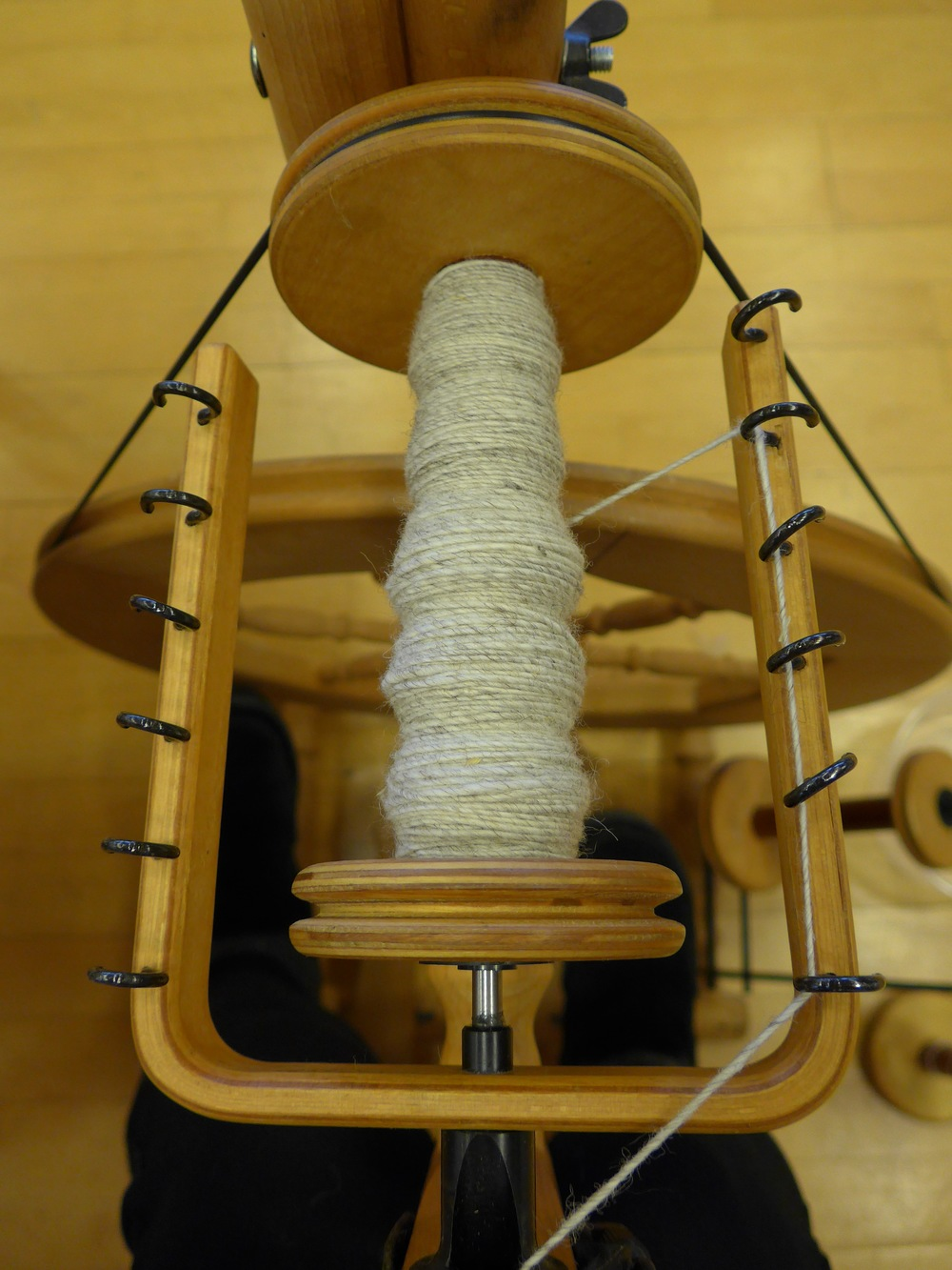 Surprise!  More spinning.