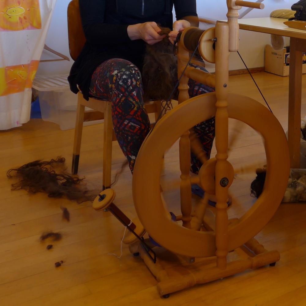 Spinning, spinning, spinning.