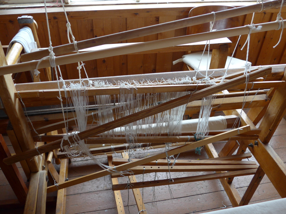 This loom just needs a little bit of attention.