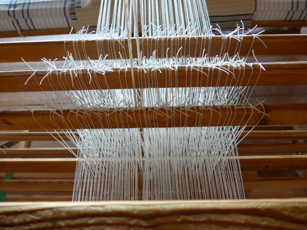 Almost ready to weave.