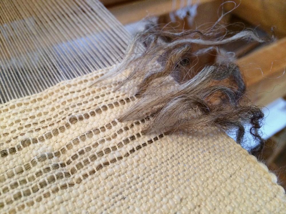 Wool detail.