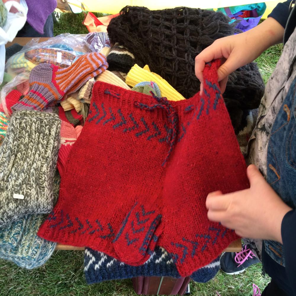 Icelandic knitwear...
