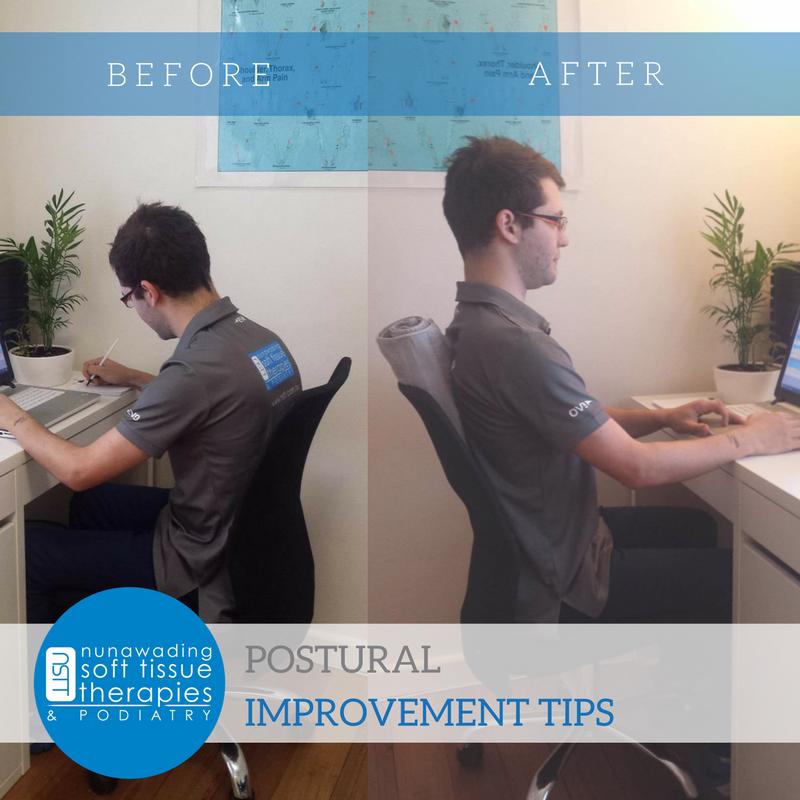 Postural Tip for Desk Bound