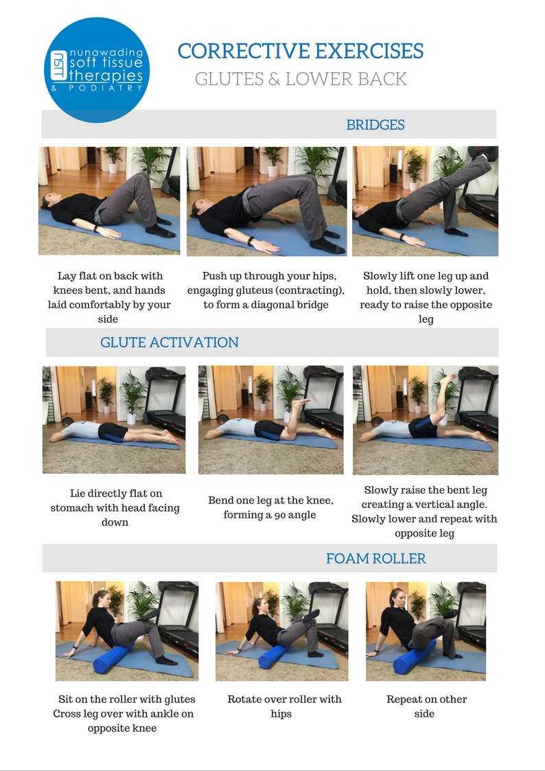 Glutes & Lower Back Exercises