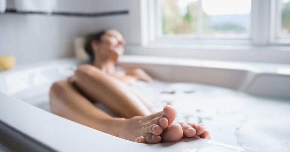 Magnesium Salt Bath