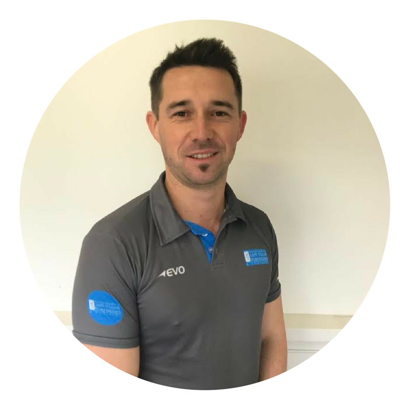 Michael linden - clinic directoR & MYOtherapist