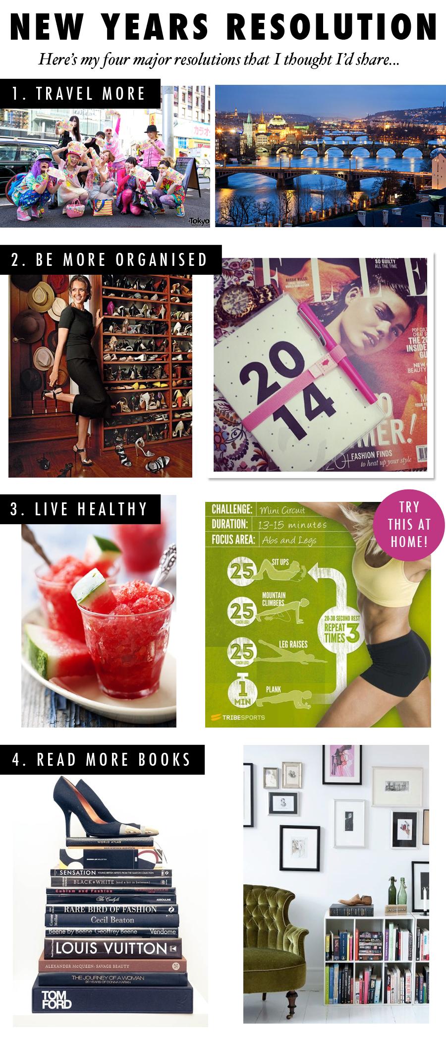New Years Eve, resolution, New beginnings, books, travel, fashion, Prague, Japan, organised, chic, Perth, blogger, Nezuki