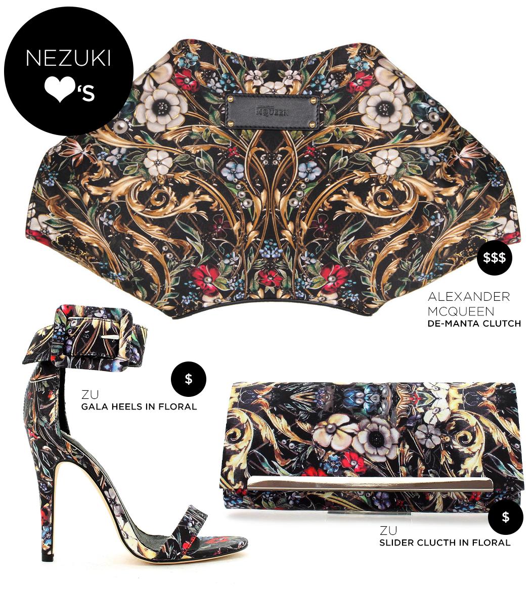 Nezuki, Alexander McQueen, ZU shoes