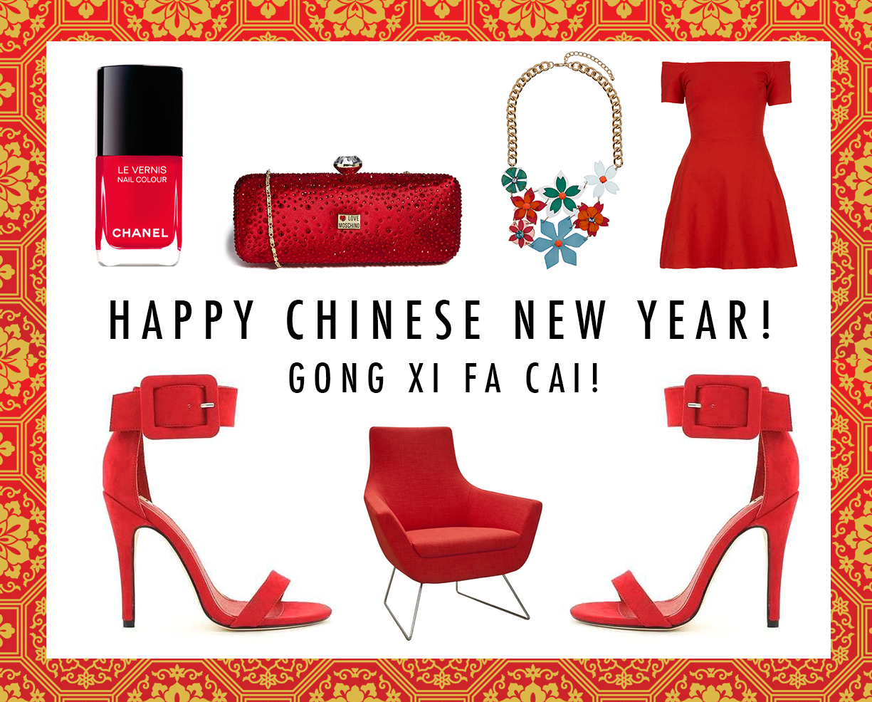 chinese new year, fashion, red,