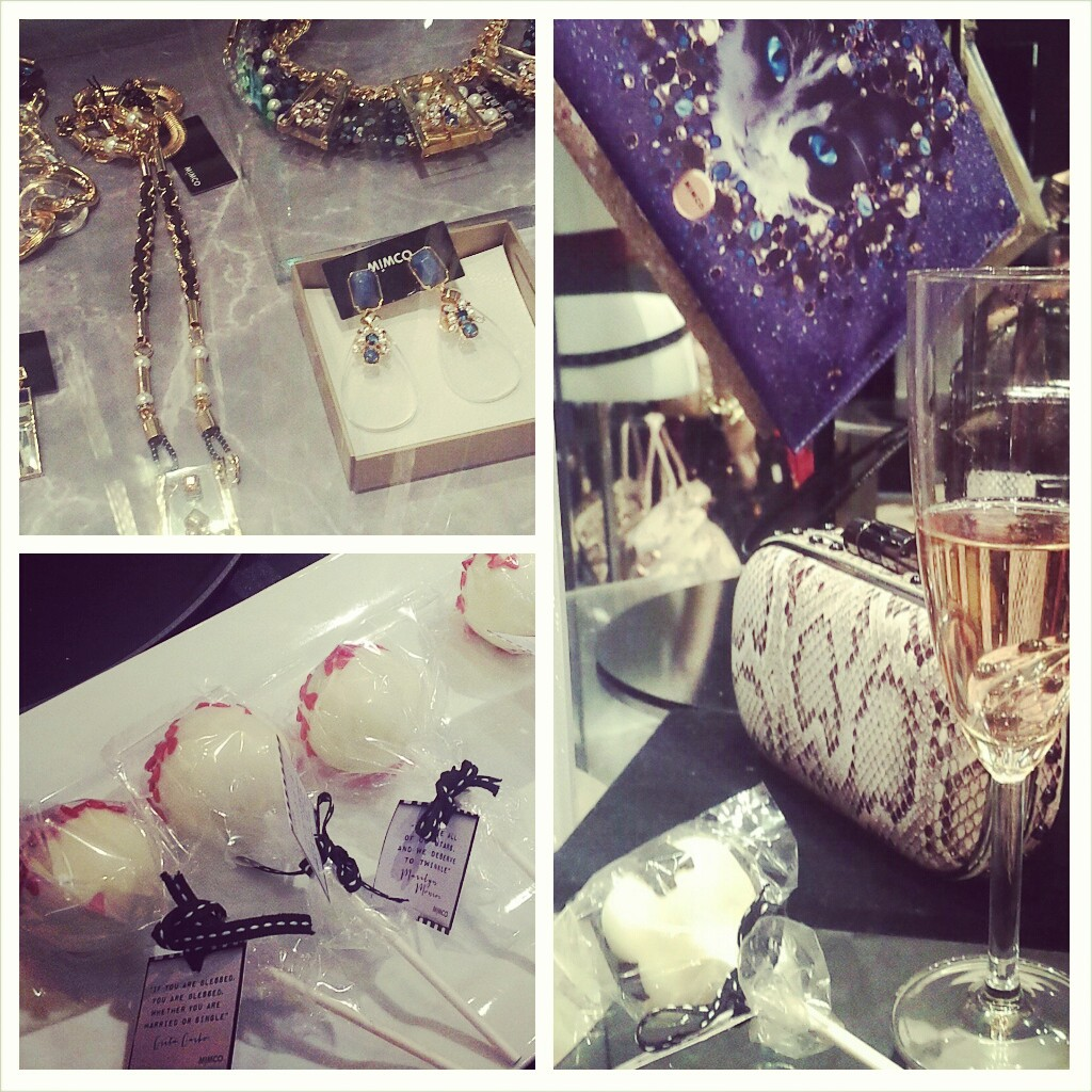 Mimco, Australian Designer, AW14 launch, VIP night, cake pop, champagne, san vitorria, water, cake, cat, cat lady, high tops, leopard, meow, jewellery, accessory, boots, necklace, nezuki