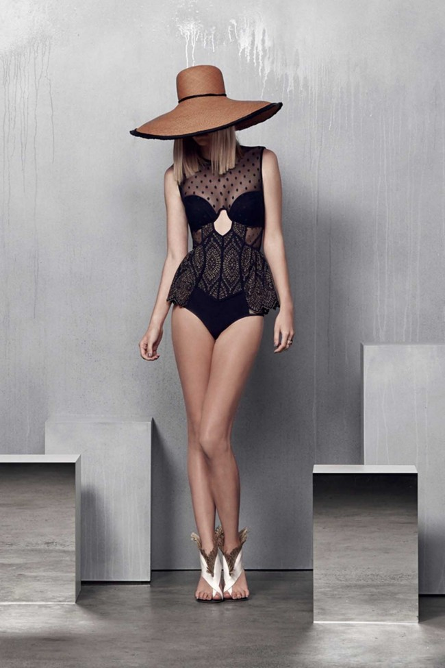 Zimmermann, resort, zimmermann resort, 2015, summer, summer fashion, lounge, bikini, swimwear, dress, fashion show