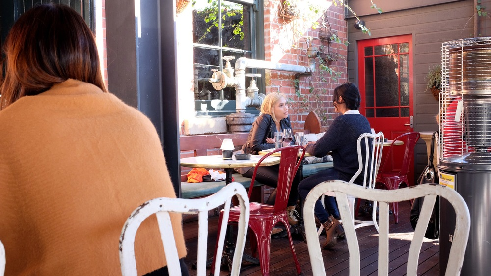 the winery, surry hills, sydney, sydney eats, sydney restaurants, surry hills restaurants, dining, australian food, wine, casual dining, cocktails, pimms, pie, lasagne, menu, winemaker, deer, bar, bartender, drinks, outdoor seating, alfresco dining, wheels and dollbaby, pink hair, makeup, eating out, food porn, foodie, food blogger, fashion blogger, australia, sydney destination, tour sydney, delicious