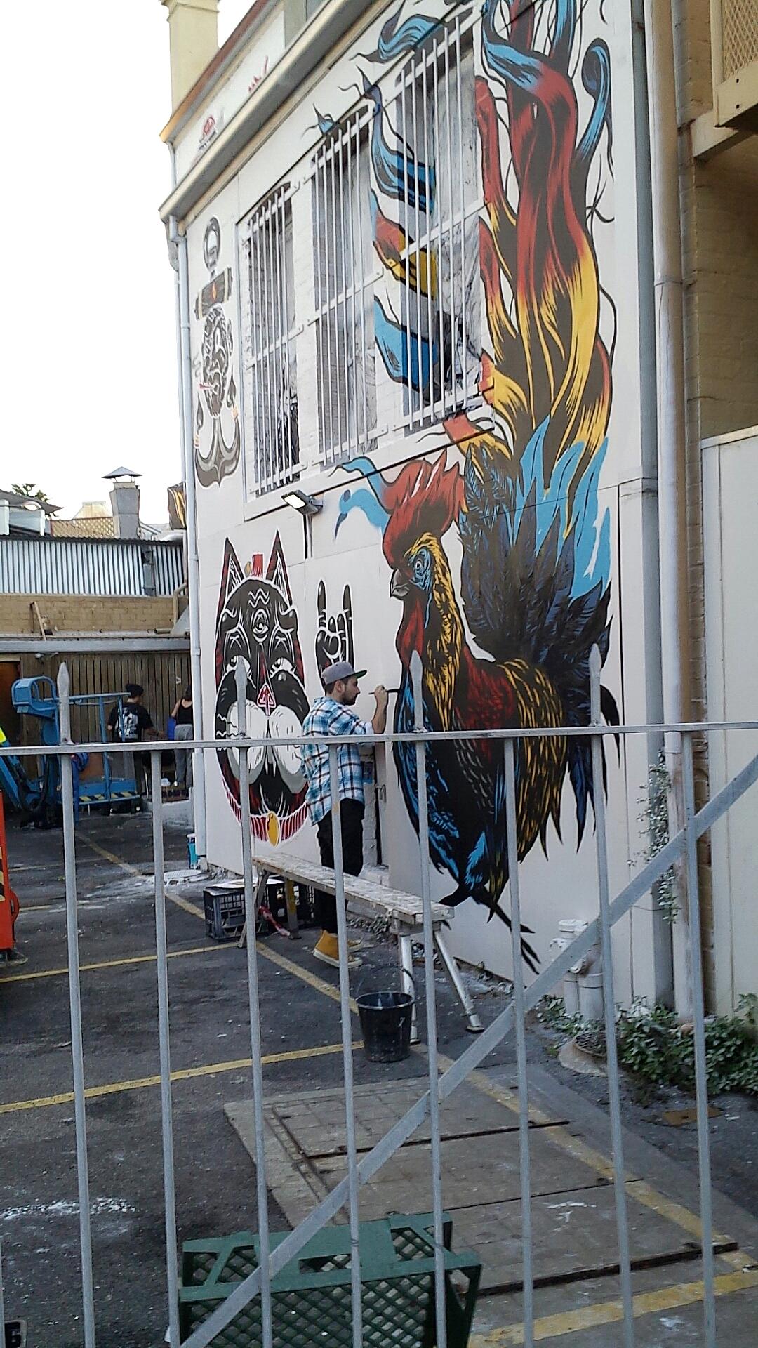 Converse Street Art - Fremantle — Nezuki