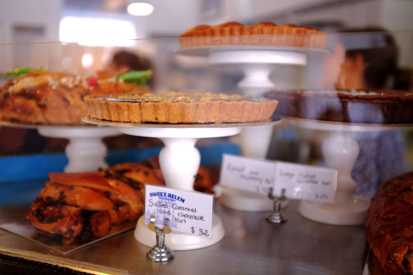 sweet belem cake boutique, sweet belem, sweet belem petersham, portuguese tarts, portuguese sydney, petersham cakes, sydney foodie, sydney eats, portuguese food, sydney blogger, nezuki, dessert, pastry, sweet, cakes