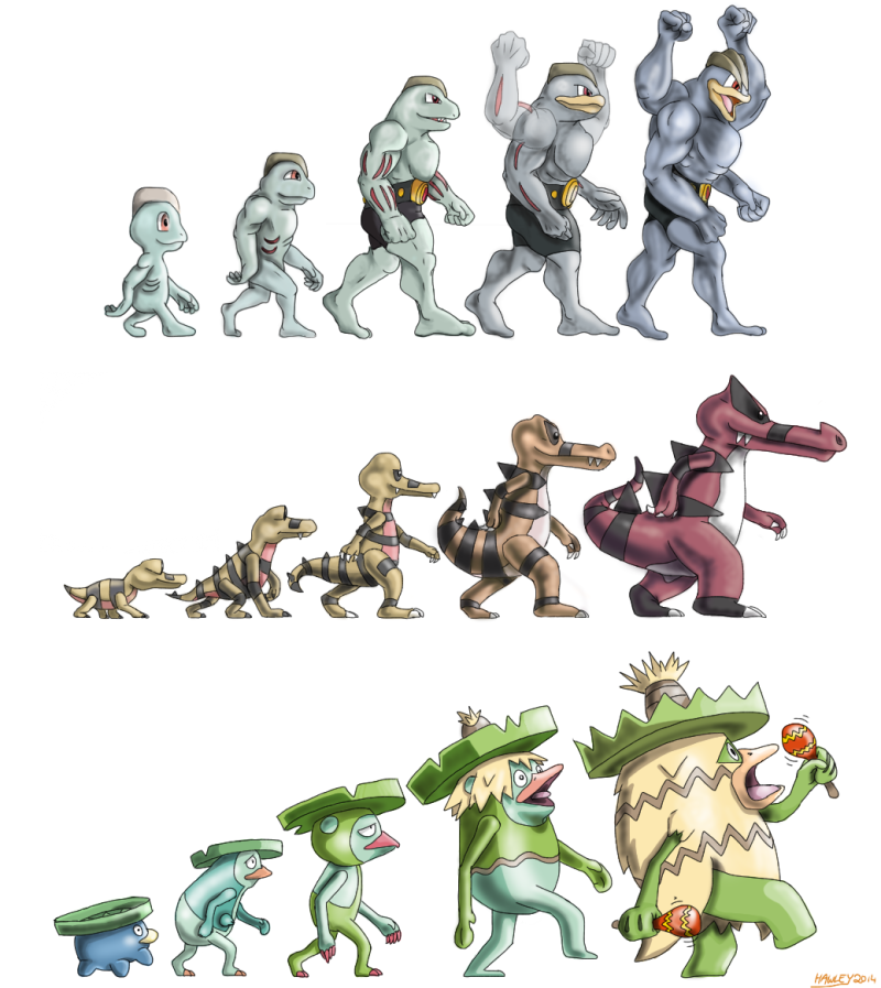 Ascent of Pokémon digital art