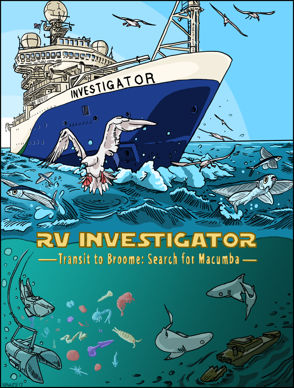 RV Investigator: Search for Macumba