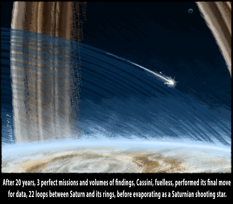 5) Grand finale shooting star 3 (captions), cassini end of mission.png