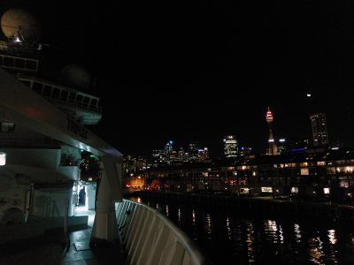It's not voyeurism if you're on a research voyage. (Woolloomooloo.)