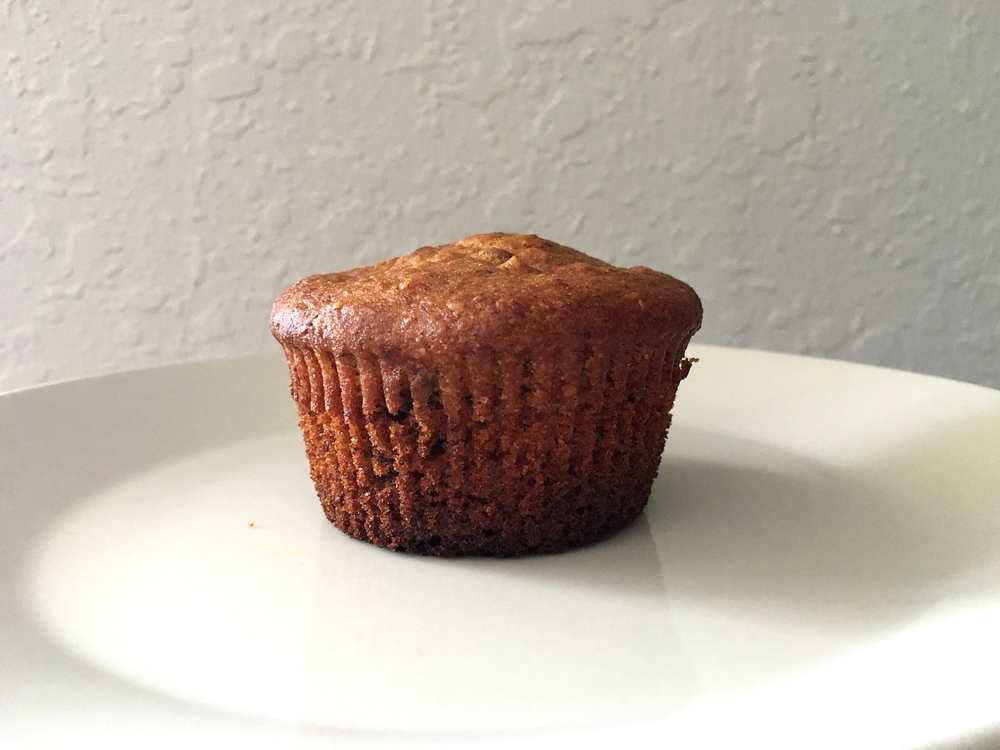 Papaya Banana Carrot Muffin