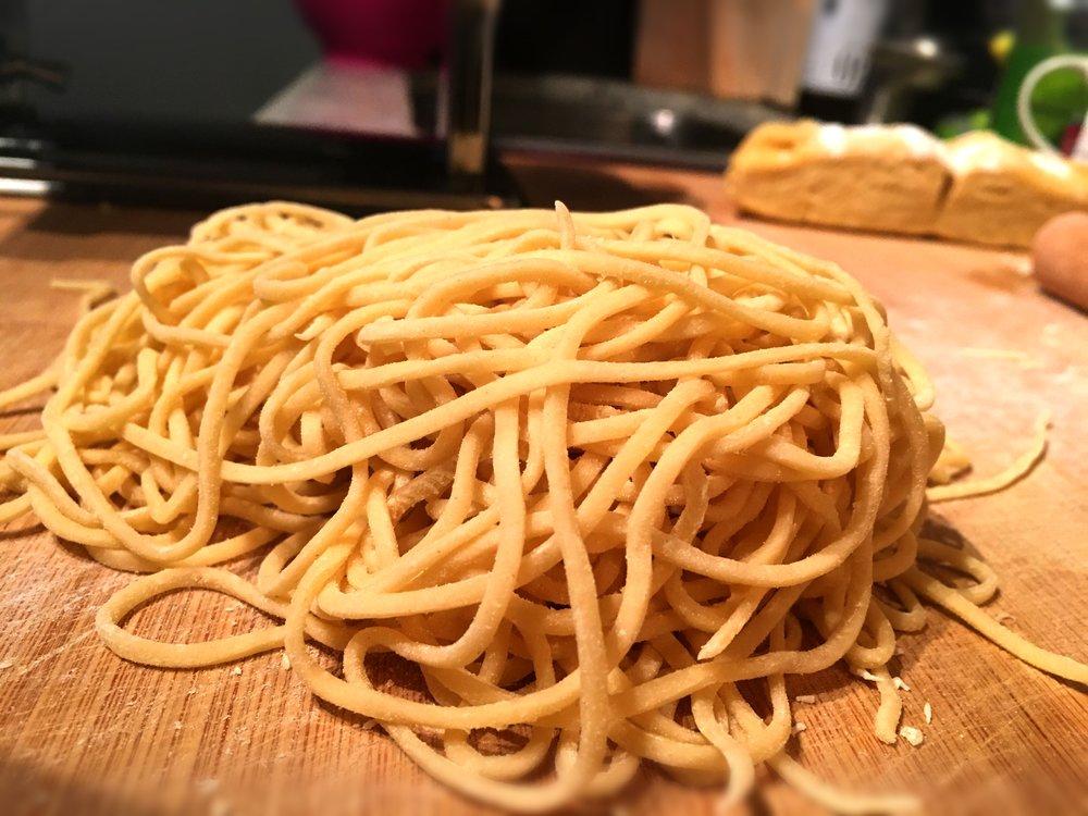 Thin Egg Noodles