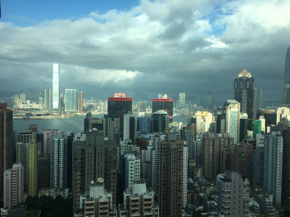 HK City Skyline