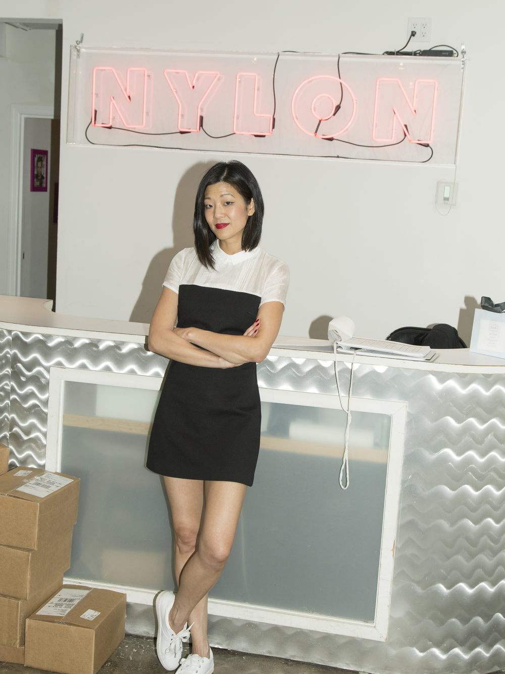 Nylon editor in chief Michelle Lee