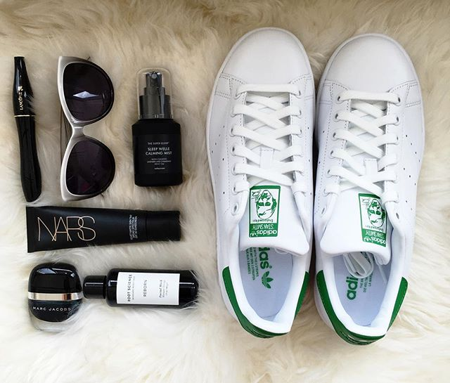 I actually don't know what I did before Stan Smiths. They are my perfect shoe. I would even wear them to a formal event. What shoe can you not live without?