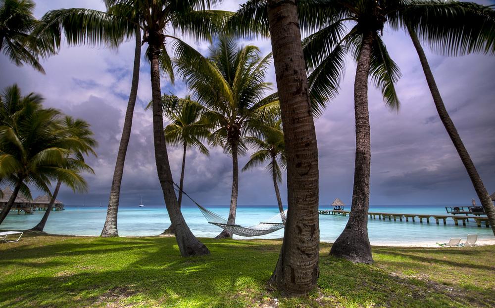 Rangiroa Lagoon, French Polynesia.