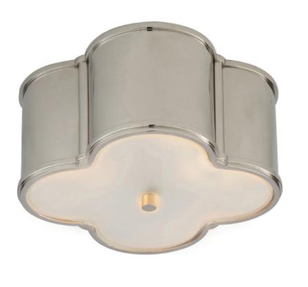 circa lighting large basil flushmount by alexa hampton inside design