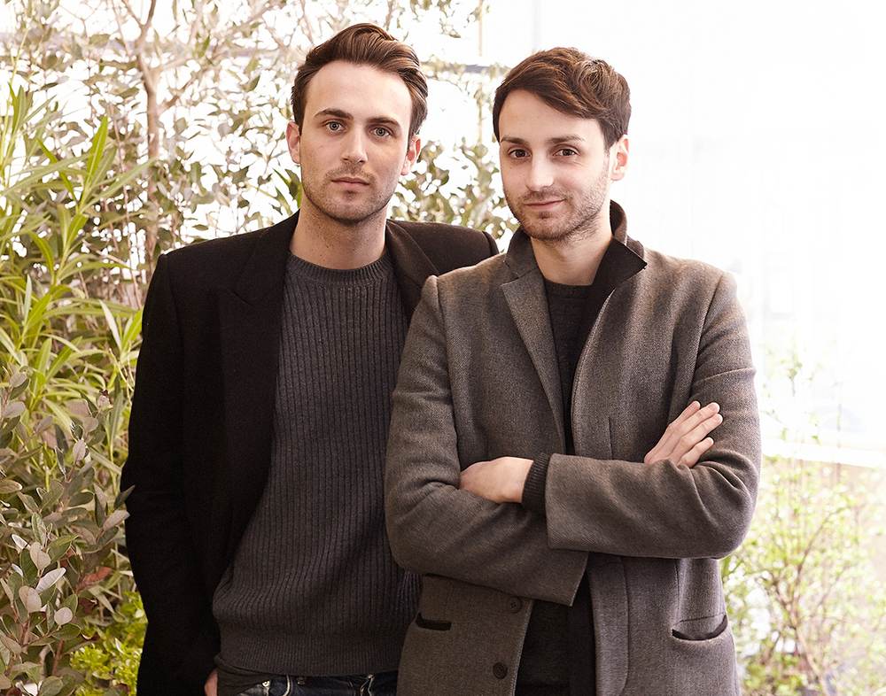 Coperni Femme, designers Sébastien Meyer and Arnaud Valliant, Yahoo Style, Paris March 2015