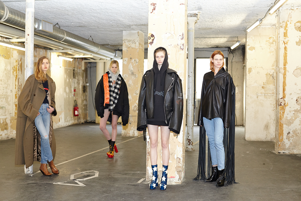 Vetements, Paris Yahoo Style March 2015