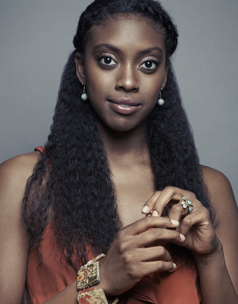 Condola Rashad,  On the Verge  W Magazine, Sept 2013