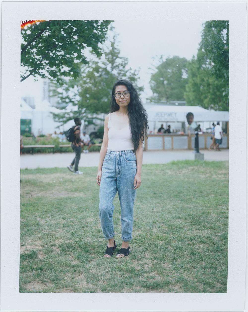 Melissa de la Cruz Araujo,  AfroPunk Festival 2015 NYC Yahoo Style