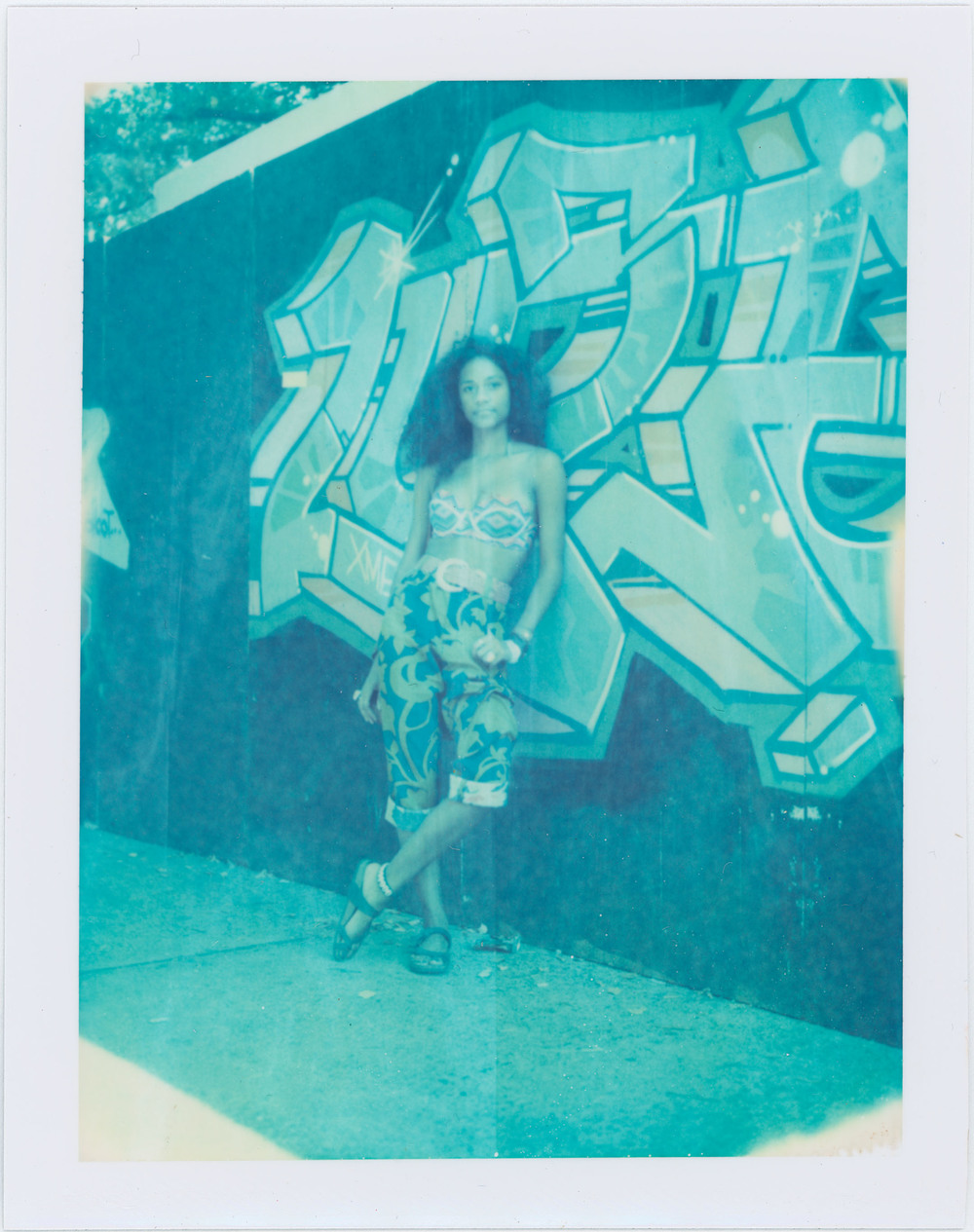 Djali Brown Cepeda,  AfroPunk Festival 2015 NYC Yahoo Style