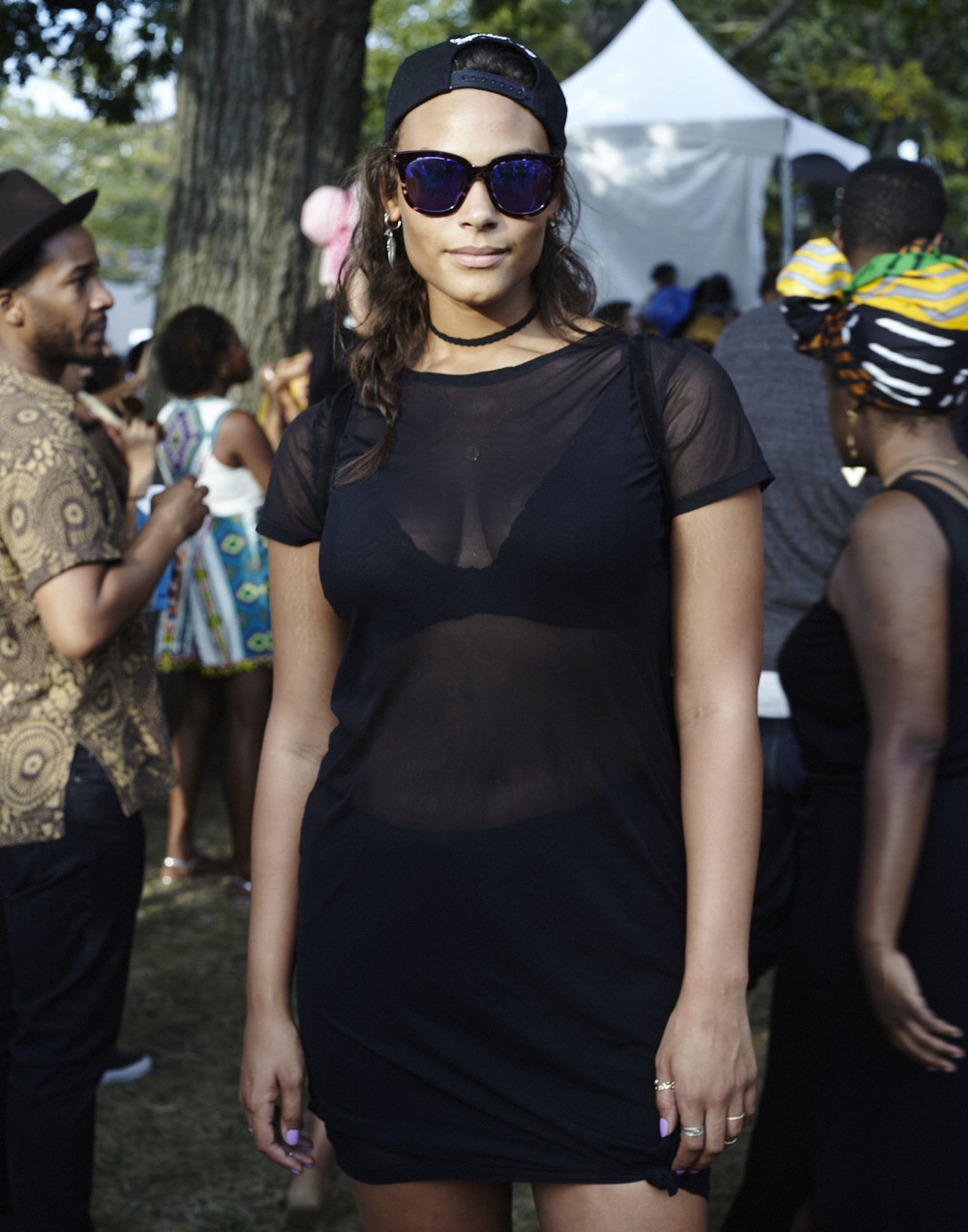 Marquita Pring, AfroPunk Festival 2015 NYC Yahoo Style