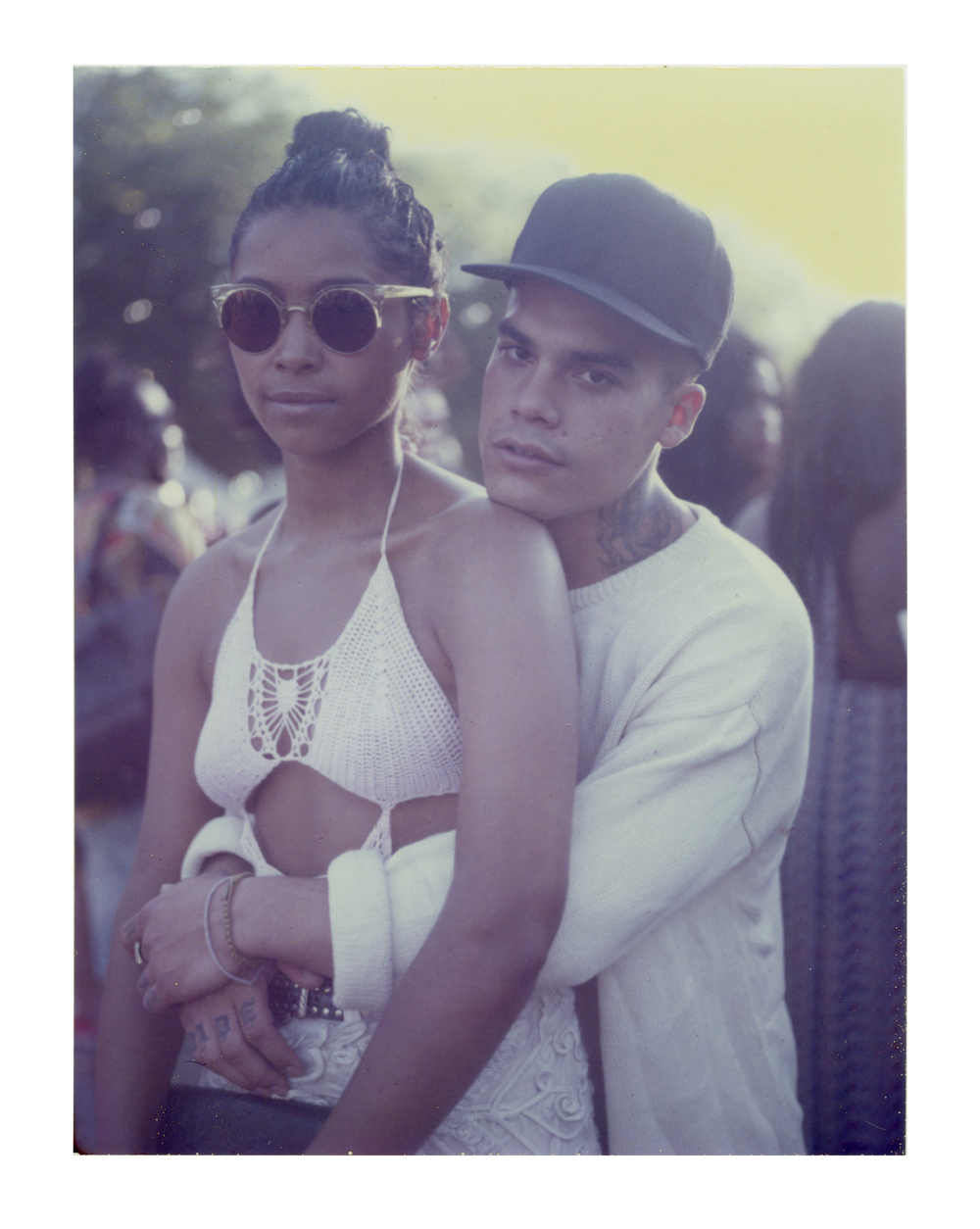 Olivia Sealy and Cristoforo Donadi, AfroPunk Festival, NYC 2014, Yahoo Style