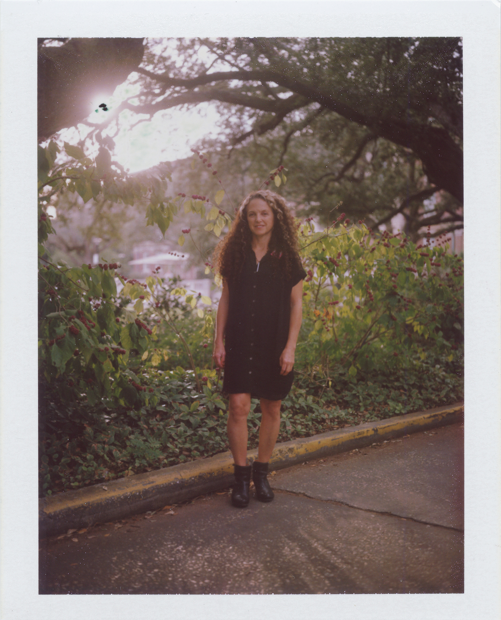 Lisa Sigal, Artist, New Orleans Oct 2014