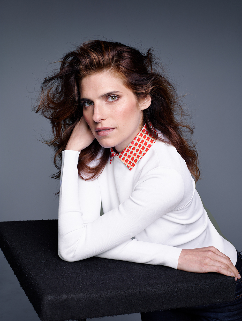 Lake Bell, outtake for W Magazine, Sept. 2013
