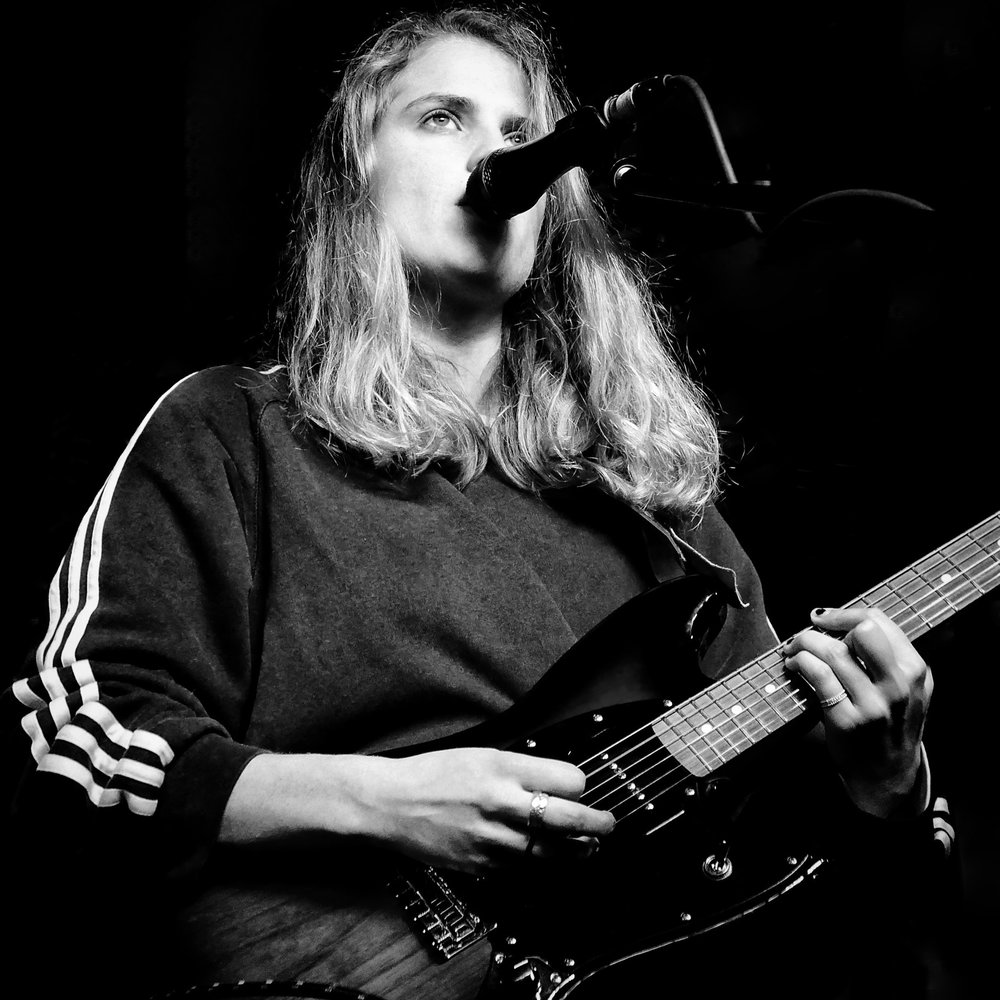 Marika Hackham, soundcheck, Newcastle 2017