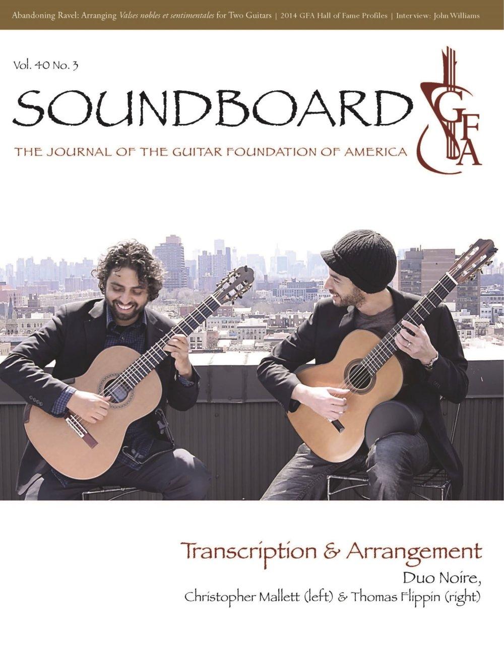 Guitar Foundation of America's Soundboard