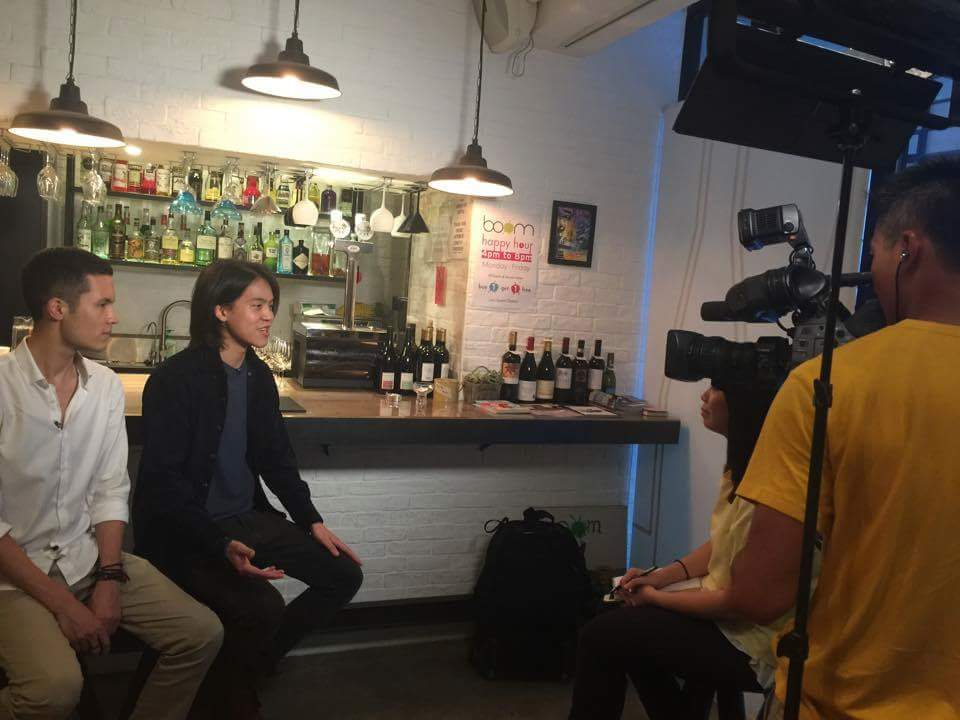 Interview with NOW NEWS, Hong Kong
