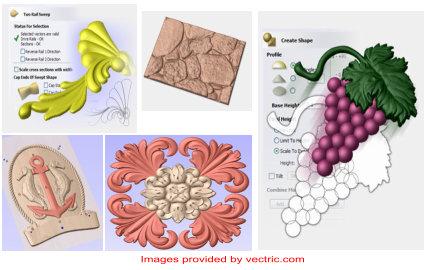 Vectric Aspire Design Software