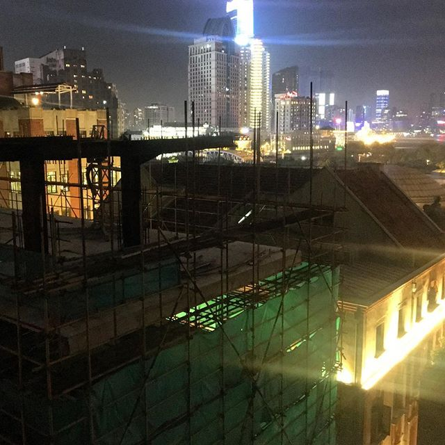 the #shanghai #glow