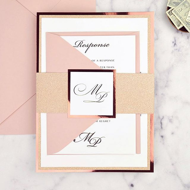 New year, new clients, new designs! We love kicking off January with a clean slate and fresh palette of invitation inspiration. Can't wait to see what this year's wedding suites will have in store! #loveprettyinvites #custominvitations #theknotbestofweddings2019