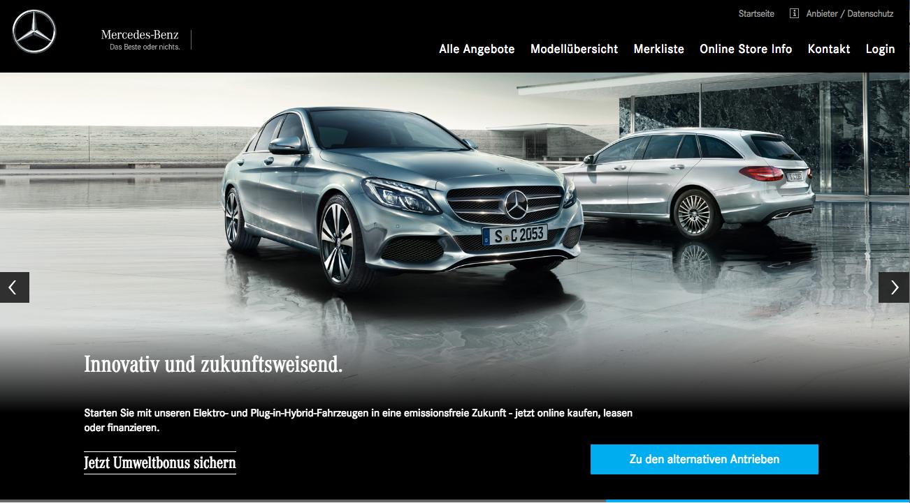Mercedes Benz Verkauft Neuwagen Jetzt Online