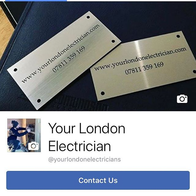 Follow on Facebook for regular updates and insights of a day to day life of... - - - https://m.facebook.com/yourlondonelectricians/