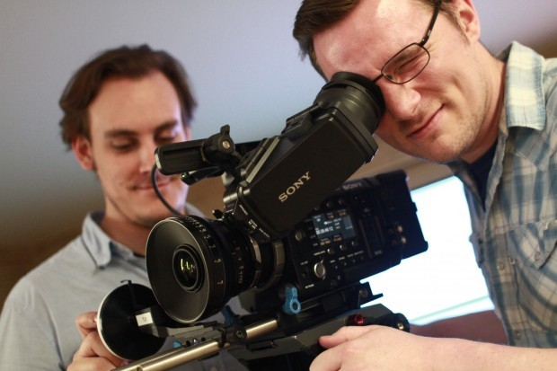 DP Jeremy Jackson and AC Tanner Fields expertly compose with the new Sony F55