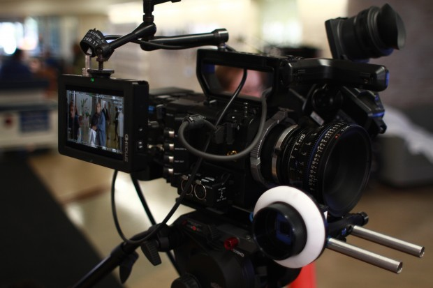 Sony F55 with Zeiss CP .2 55mm
