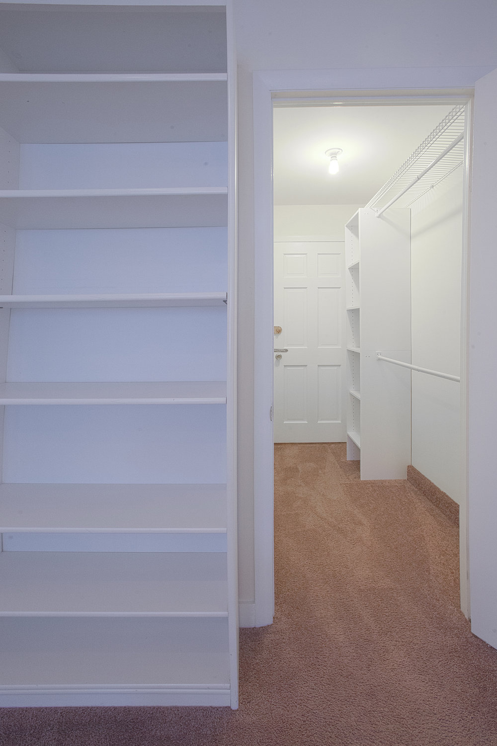 Unit 1 Bedroom Closet