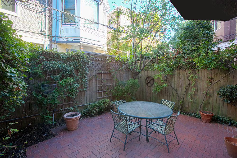 Unit 1 Back Patio